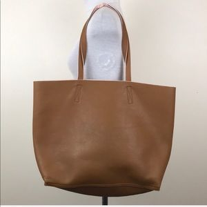 Old Navy Tan Pink Reversible Tote Bag